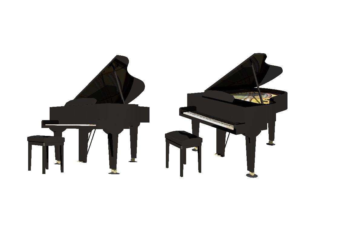piano02.JPG 今度はもう少し詳細にモデリングをして 曲面についてはNURBS機能を使.